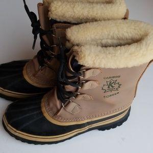 Caribou Kaufman Sorel Vintage Women's Boot Size 9
